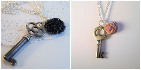 Skeleton Key Jewelry by FrostedTreats